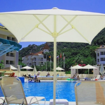 Top Lİne Square Pool Umbrella